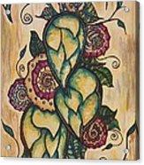 Henna Hops Study 1 Acrylic Print