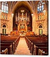 Hennepin Avenue Methodist Church Acrylic Print