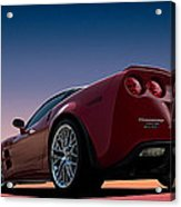 Hennessey Red Acrylic Print