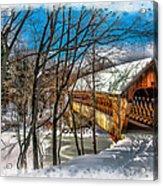Henniker Bridge Acrylic Print