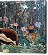 Henri Rousseau The Dream 1910 Acrylic Print
