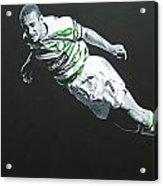 Henrik Larsson  - Celtic Fc Acrylic Print