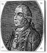 Henry Clinton (1738-1795) Acrylic Print