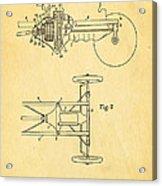 Henry Ford Transmission Mechanism Patent Art 1911 Acrylic Print