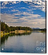 Henry Fork Of Snake River II Acrylic Print by Robert Bales