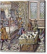Henry II Of France, 1559 Acrylic Print