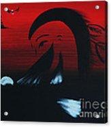 Her Eagle Spirit Acrylic Print