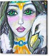 Her Journey Acrylic Print