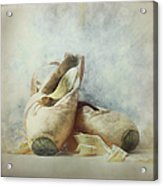 Her Life, Her World....her Shoes Acrylic Print