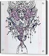 Her Majesty Time Acrylic Print