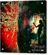 Her Power To Create Acrylic Print