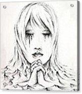 Her Prayers Acrylic Print