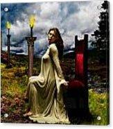 Her Royal Highness Acrylic Print