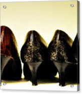 Her Shoes Acrylic Print