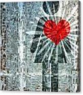 Her Strength Of Heart Acrylic Print