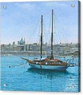Hera 2 Valletta Malta Acrylic Print