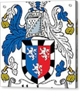 Herbert Coat Of Arms Irish Acrylic Print