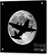 Hercules Moon Acrylic Print