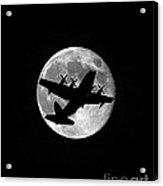 Hercules Moon Vertical Acrylic Print