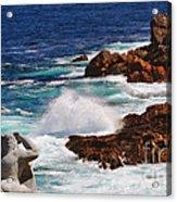 Hercules On The Argonauts Ship Acrylic Print