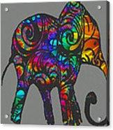 Herd Of Colors Acrylic Print