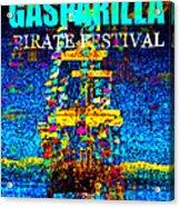 Here Comes Gasparilla Acrylic Print