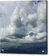 Here Comes The Storm Acrylic Print