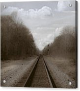 Here That Train Acrylic Print
