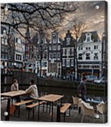 Kaizersgracht 451. Amsterdam. Holland Acrylic Print