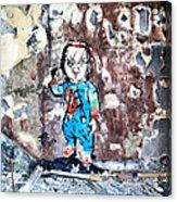 Here's Chucky Acrylic Print