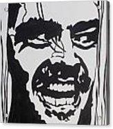 Here's Johnny Acrylic Print