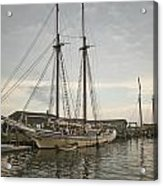 Heritage At Dock Acrylic Print