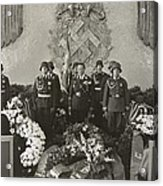 Hermann Goering At The Funeral Acrylic Print