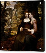 Hermia And Helena Acrylic Print