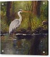 Herons Rest Acrylic Print