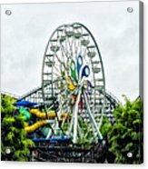 Hershey Park Ferris Wheel Acrylic Print
