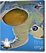 Hes Got The Whole World In His Hands Acrylic Print