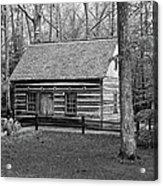Hesler Log Home 10234b Acrylic Print