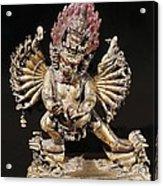 Hevajra. 18th C. Buddhist Tantric Acrylic Print