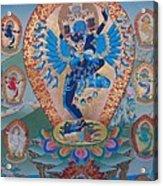 Hevajra With 8 Dakinis Acrylic Print
