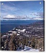 Hevenly Ski Resort In South Lake Tahoe Acrylic Print