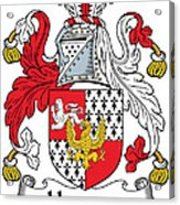 Hewson Coat Of Arms Irish Acrylic Print