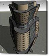 Triagonal Building 3 Acrylic Print