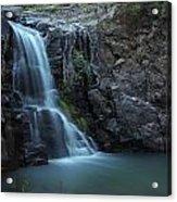 Hiawatha Falls Acrylic Print by Aaron Bedell