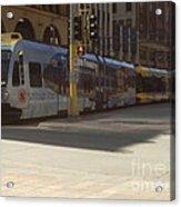 Hiawatha Line Light Rail Acrylic Print