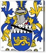 Hickey Coat Of Arms Irish Acrylic Print