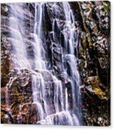 Hickory Nut Falls Acrylic Print