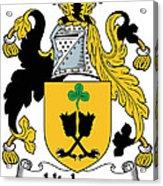 Hickson Coat Of Arms II Kerry Ireland Acrylic Print