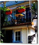 Hidden Away Balcony Acrylic Print