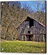 Hidden Barn Acrylic Print